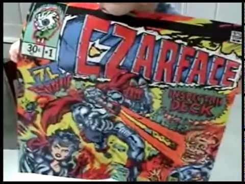 [VIDEO] CZARFACE ACTION FIGURE x POP-UP CD x VINYL!