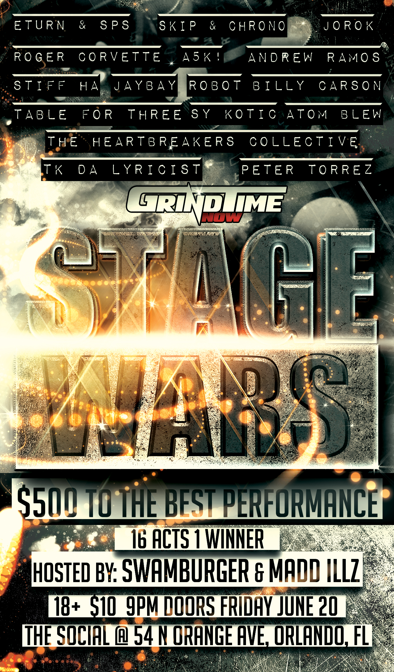[FOOTAGE] 6-20-14 Grind Time Now: Stage Wars Orlando